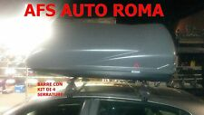 BARRE PORTATUTTO ALFA ROMEO 147 5P+BOX PORTAPACCHI CARGO G3 430 MADE IN ITALY