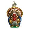 Old World Christmas TOM TURKEY (16015)N Glass Ornament w/ OWC Box