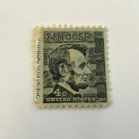 US Stamps Collection 4c Lincoln Used United States Rare Tagged Lincoln
