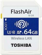 Toshiba Flash Air SDXC Memory Card 64GB Class10 UHS-1 SD-UWA064G AT0925Y