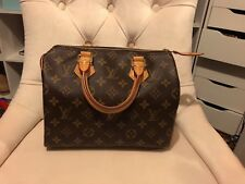 💯 Authentic Louis Vuitton Speedy 25 in Monogram Canvas preowned excellent cond.