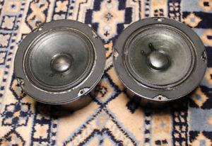 "Set of BOSTON ACOUSTICS A150/A200 4.5"" Mid-Range Driver Speakers #11-015-0"
