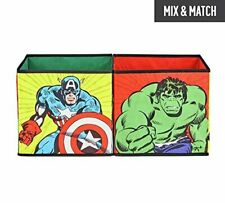 Marvel Avengers Storage Box Cubes