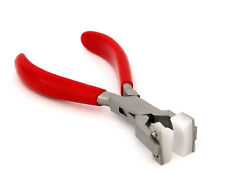 Bracelet Bending-Forming Pliers With Nylon Jaws Red Handles