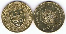 Wojewodztwo Wielkopolski 2005,  2 Zl Muenze Nordic Gold Bfr,