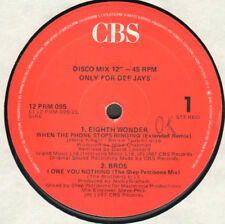 VARIOUS (EIGHT WONDER / BROS / THE ALARM / WA WA NEE) - CBS – 12 PRM 095 - Ita
