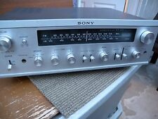 Sony solid state AM/FM stereo receiver STR-6050 working condition. Japan.
