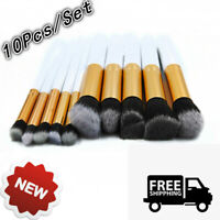 10pcs/Set Cosmetic Makeup Brush Tools Kit Eyeborw Face Lip Powder Face Lip Brush