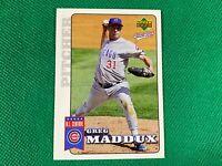 2006 Upper Deck First Pitch #33 Greg Maddux Chicago Cubs