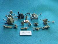 Wargames - 20mm WWII German Guns with Crew x4 - WG15