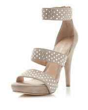 NIB $275 Via Spiga Women's Angela Suede Crystal Studded Dress Sandals Shoes 7M