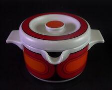 Fantastico POPART Service-ARZBERG servizio mensa anni 60er - 31 pezzi arancione/BLACK