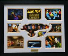 Star Trek Limited Edition Signature Framed Memorabilia (w)