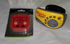 Vintage Sony SRF-M78 Sports Armband Walkman AM FM Radio With New Earbuds w/ Case