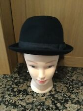 LADIES DEEVOV BLACK HAT WITH BOW DETAIL / BARELY WORN GOOD CONDITION
