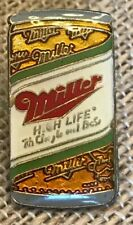 Vintage Miler High Life Beer Lapel Pin
