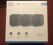 Blink-XT 2 3 Camera Home Security System HD Video, Motion Detection, NEW SEALED