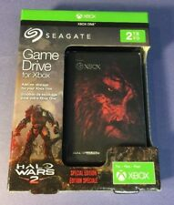 Seagate XBOX Game Drive 2TB USB 3.0 [ Halo Wars 2 SPECIAL Edition ] NEW