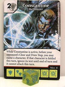 DC Dice Masters - #137 Constantine Hellblazer - Justice League