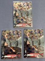 Zac Gallen 2020 Topps Chrome Rookie Card Lot RC Diamondbacks (3 Card)