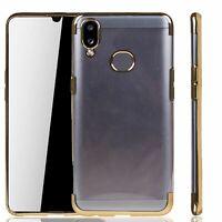 Samsung Galaxy A10s Étui Coque pour Portable Sac de Protection Housse Étuis Or