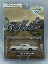 GREEN LIGHT HOBBY 1:64 1975 HAZZARD COUNTY DODGE MONACO SHERIFF POLICE CAR