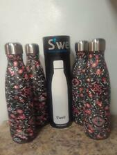 Swell Insulated Stainless Steel Water Bottle 17  oz  FORBIDDEN POSY LOT OF 4