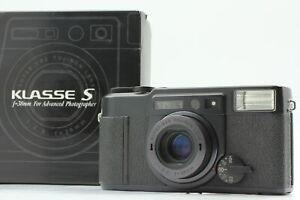 [ Near MINT in Box ] Fuji Fujifilm KLASSE S Black 38mm Point & Shoot From JAPAN