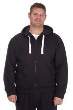 Men's Plus Size Hoodie Pullover Jacket Basic Plain Casual Hoody Size 3XL-6XL UK