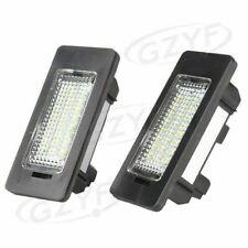 Pair LED Error Free License Plate Light Lamp Fit BMW E82 E90 F10 F25 E71 White
