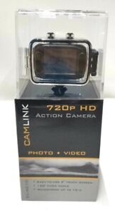 """Camlink HD Action Camera 720p 2"""" Touch Screen CL-AC10"""