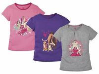 Girls T-shirt Top Blouse 100% cotton Ice Age Collision Course Print Desing