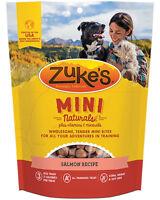Zukes Mini Naturals Dog Treats - Savory Salmon Recipe