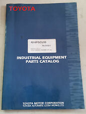 TOYOTA IC POWERED FORKLIFT PARTS CATALOG 6FGCU30
