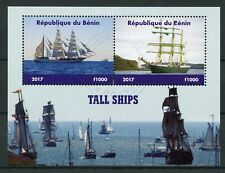 Benin 2017 CTO Tall Ships Sail Sailing Boats 2v M/S Nautical Stamps