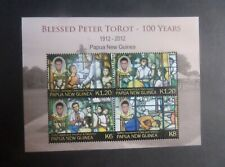 Papua New Guinea 2012 Birth cent Peter Torot MS MS1560 MNH UM unmounted mint