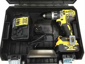 DeWalt DCD796P1 18v Brushless Combi Drill With 5Ah Battery DCB115 Charger & Case