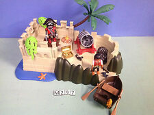 (M297) playmobil super set repaire des pirates 4007 5135 5134