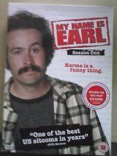 My Name Is Earl - Season One  [DVD] 4 Discs Jason Lee, Ethan Suplee, Jaime Press