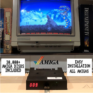 """Commodore Amiga Gotek 3.5"""" Floppy Drive Emulator with 32GB loaded with ADF's"""