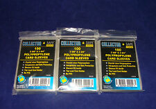 100 Trading Card Soft Sleeves-3 Packs