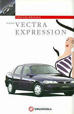 VAUXHALL VECTRA EXPRESSION 1997 SPECIAL EDITION MODEL BROCHURE V10461 10/96 (UK)