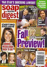 Kimberly McCullough Lindsay Hartley Gina Tognoni Sept. 2, 2013 Soap Opera Digest