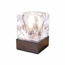 Glass Ice Cube Lamps