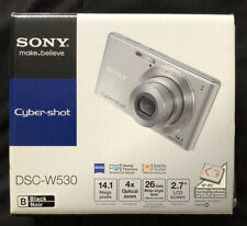 Sony Cyber-shot DSC-W370 14.1 MP Digital Camera 7x Opt Zoom 3