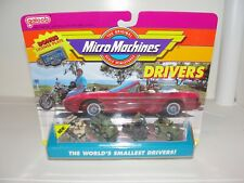 Micro Machines Drivers Military Personnel Collection #4
