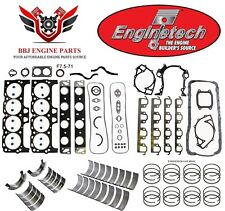 ENGINETECH FORD 460 7.5L RE RING REBUILD KIT WITH MAIN BEARINGS 1988 - 1992