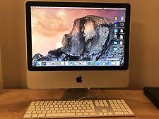 Apple iMac 20-Inch, early 2008, 2.66Ghz Intel Core 2 Duo, 512 Go SSD, 4 Go RAM