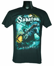 Sabaton Medium Size M New! T-Shirt (Heroes) 1473