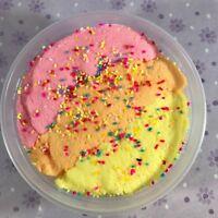 Cloud SLIME Rainbow Sherbet Sprinkles Soft Snow 4 6 8 12 oz Sherbert Scented